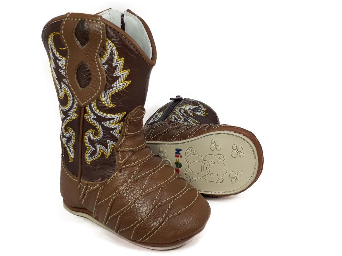 Bota Country para Bebê Texana Escamada Rodeio Cowboy 1891 no Elo7 ... 876960b57b1