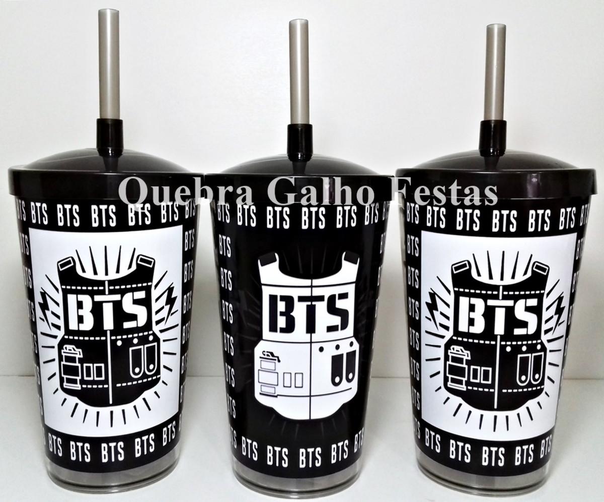 Copo Bts Banda Coreana Lembrancinhas Personalizadas No