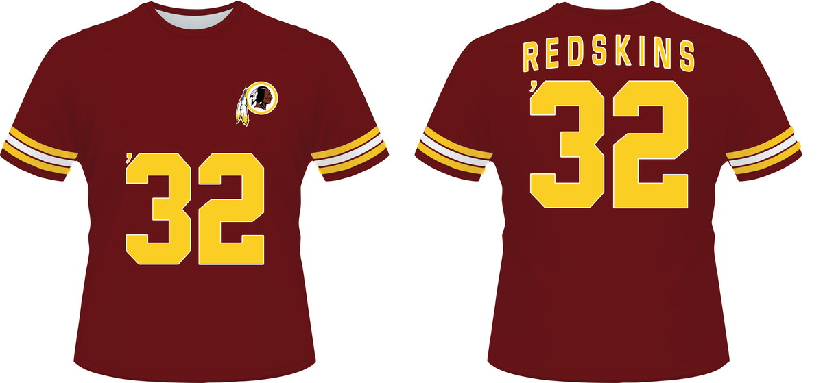 623aeae8d camiseta NFL WASHINGTON REDSKINS 01 no Elo7