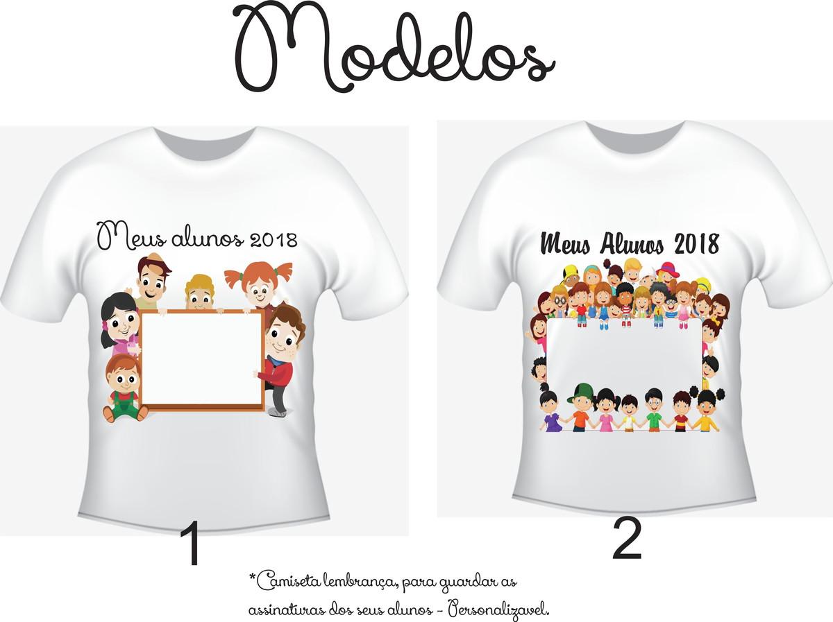 Camiseta Professora Professor Lembrança Dos Alunos No Elo7