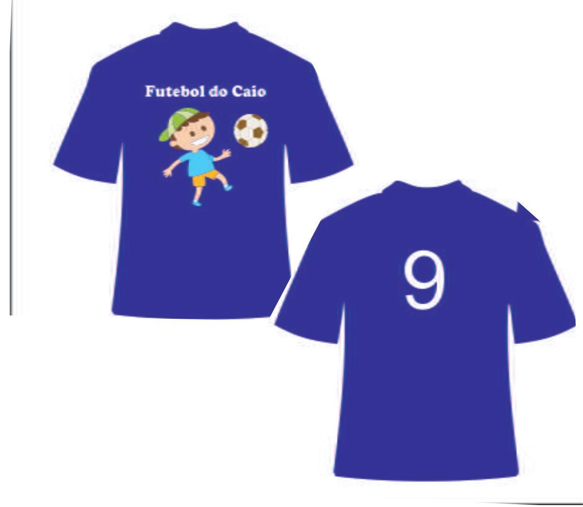 2511d73c2c Camiseta personalizada aniversario de Futebol- 3 unidades no Elo7 ...