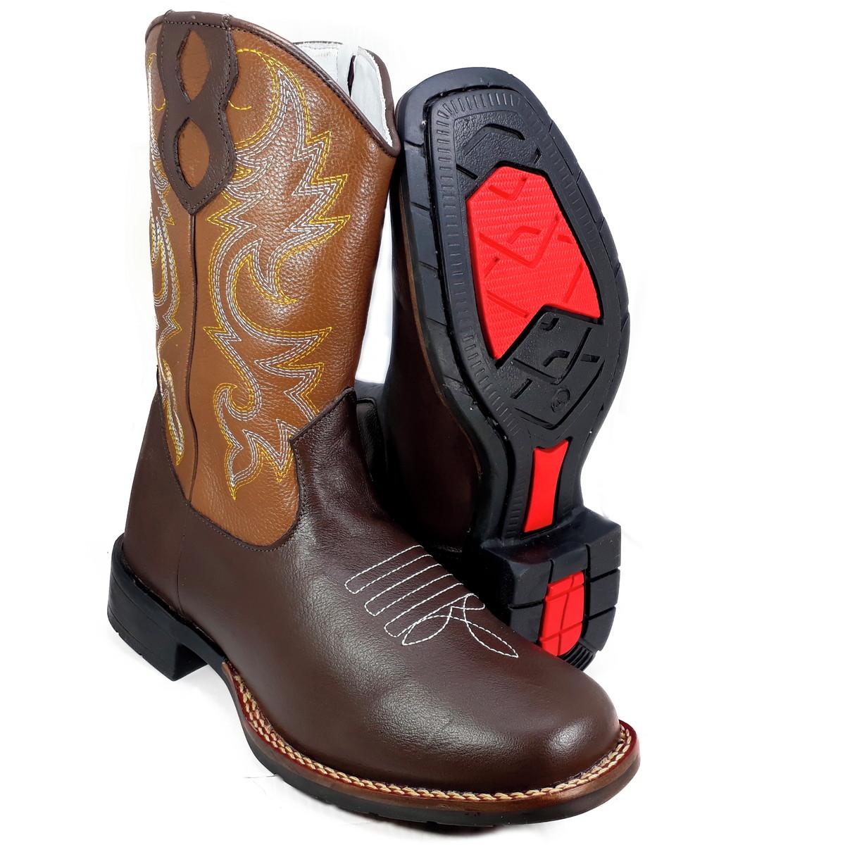 2b079416d7 Bota Country Masculina Feminina Bico Quadrado Texana K9000 no Elo7 ...