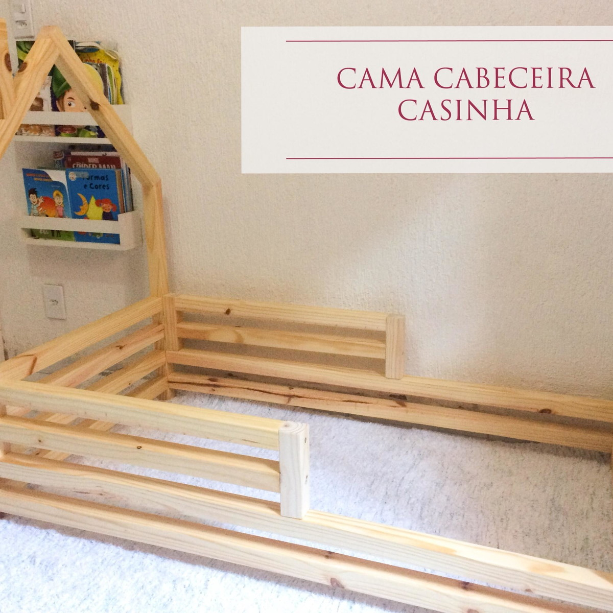 b622a789c4 Berço Cama Montessori Doce Infância no Elo7