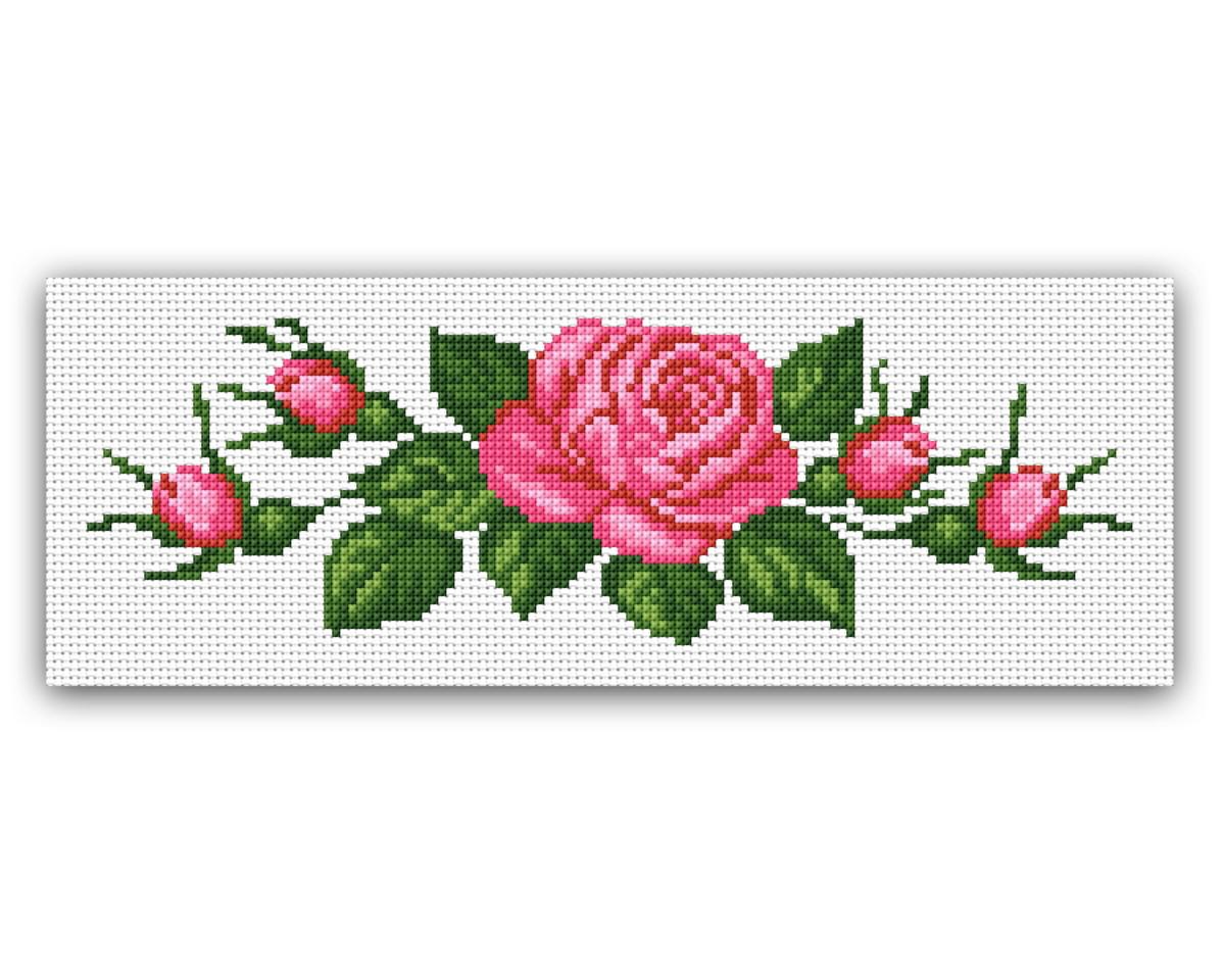Rosas E Botoes Grafico De Ponto Cruz No Elo7 Thimage