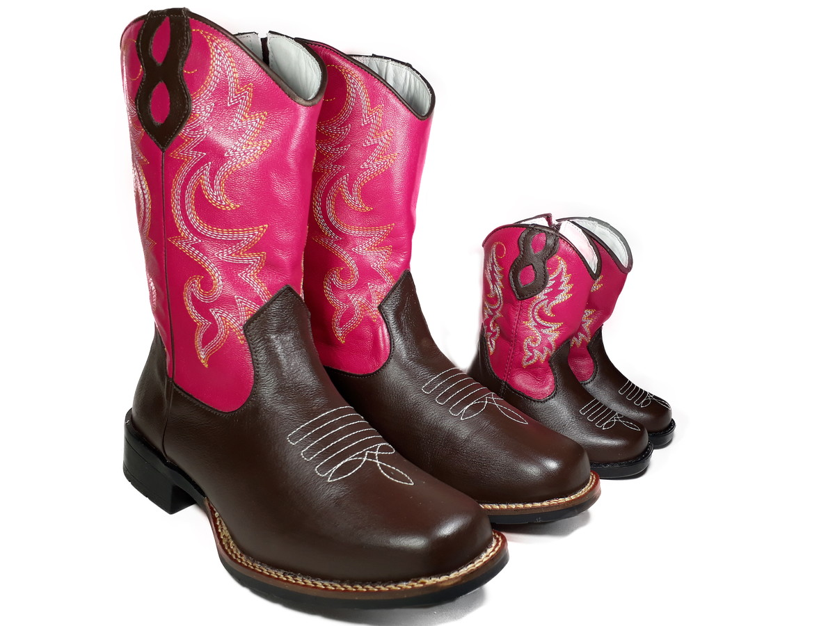 Bota Country Feminina Tal Mãe e Filha Texana Rodeio K908115 no Elo7 ... 68af7ae8897