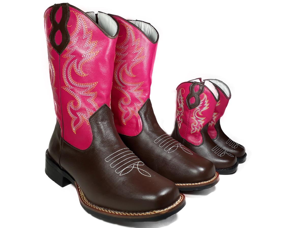 e9c503566f4cfb Bota Country Feminina Tal Mãe e Filha Texana Rodeio K908115