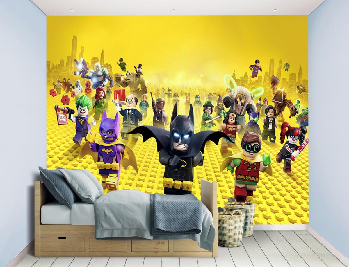 753799bce34a8d Papel de parede Batman Lego ²