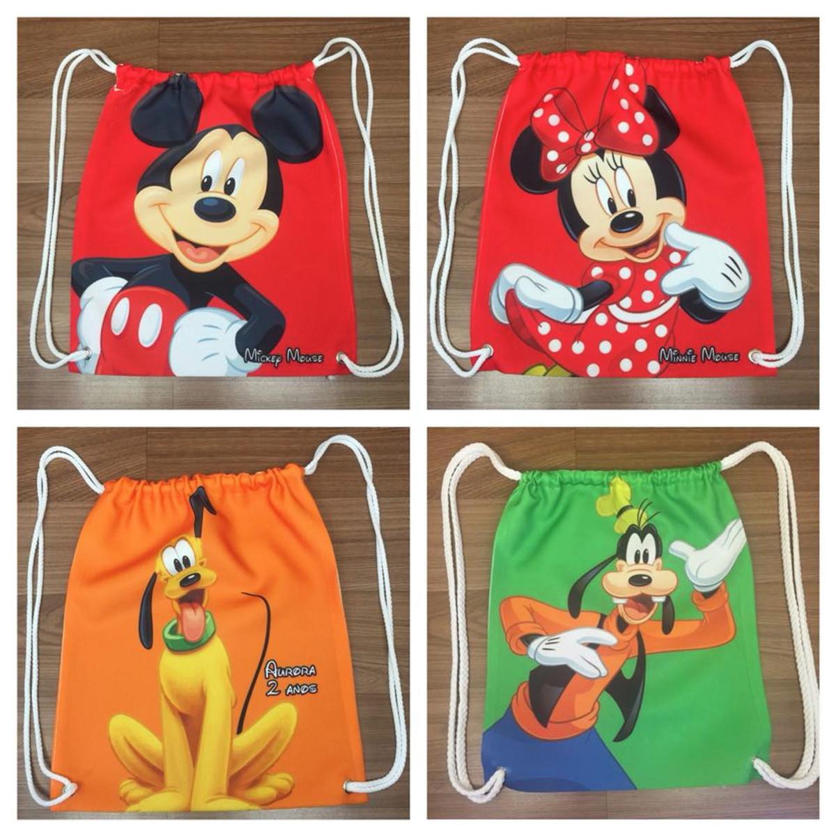 c837a14c8 Mochila Personalizada - Turma do Mickey no Elo7 | Kais Design ...