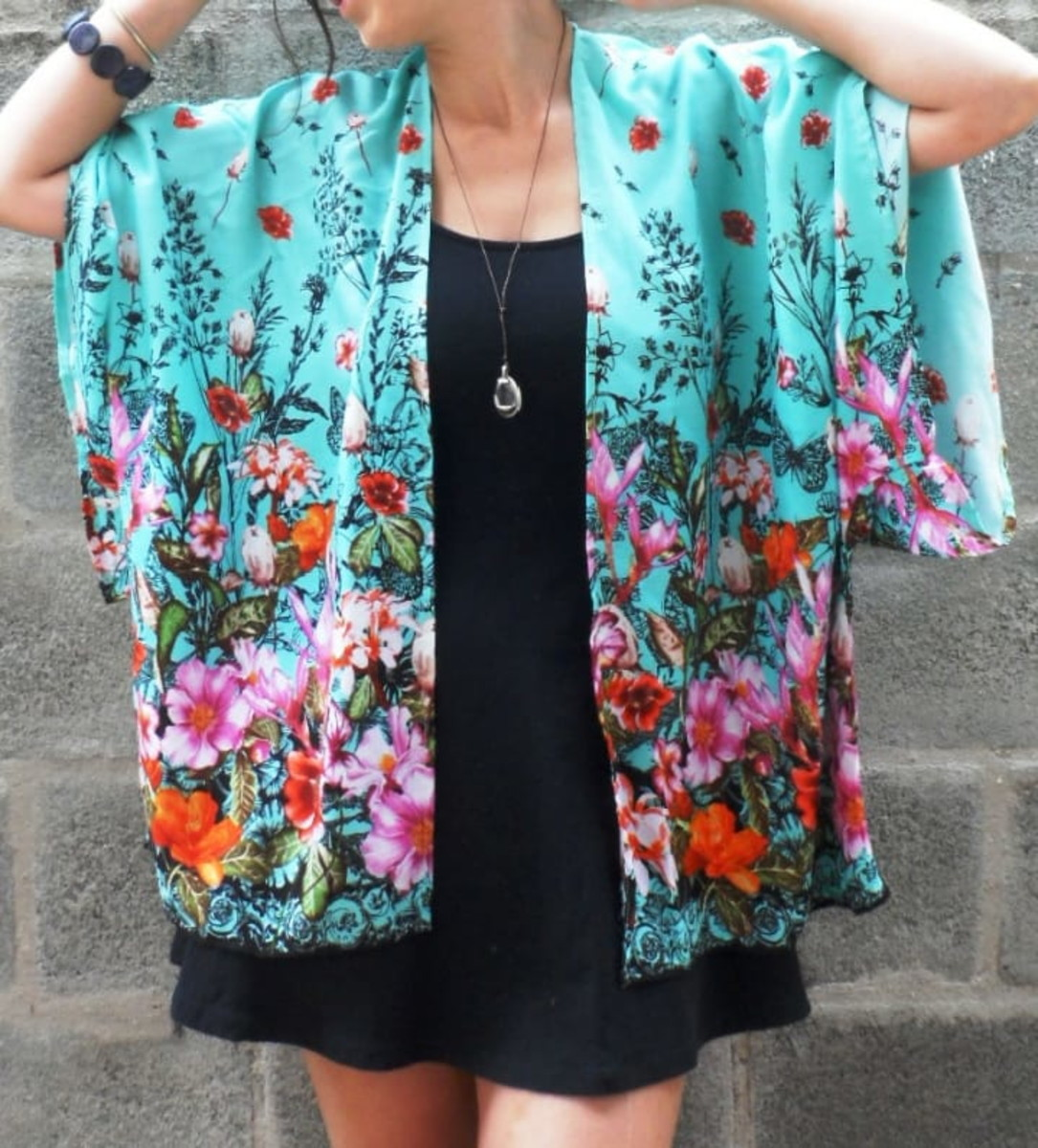 d67285ae8 Kimono Feminino Moda Floral Boho 2019 no Elo7