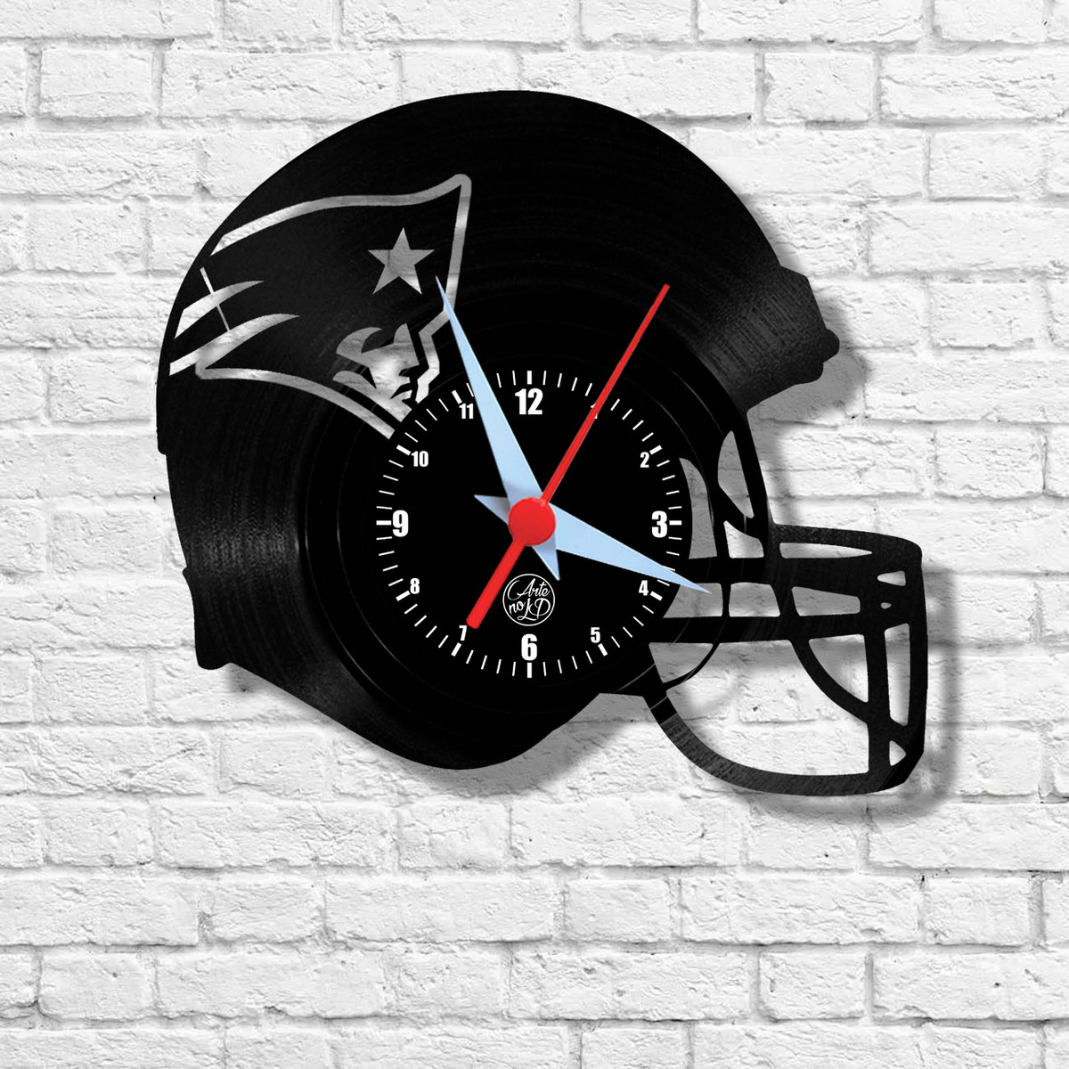 5ed87bd4239 Futebol Americano - Patriots - Relógio de Parede no Elo7