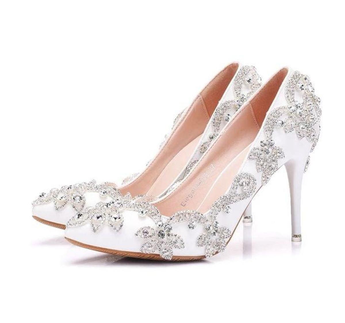 b2368a9713 Sapato de Noiva personalizado no Elo7