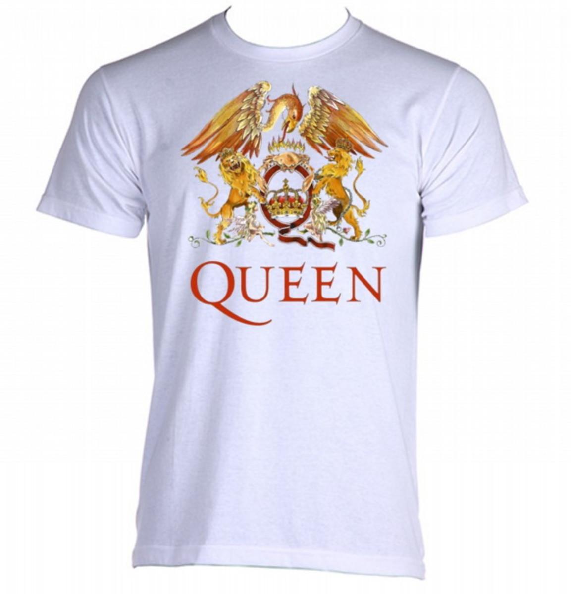4a00c5bb248df camiseta banda Queen no Elo7