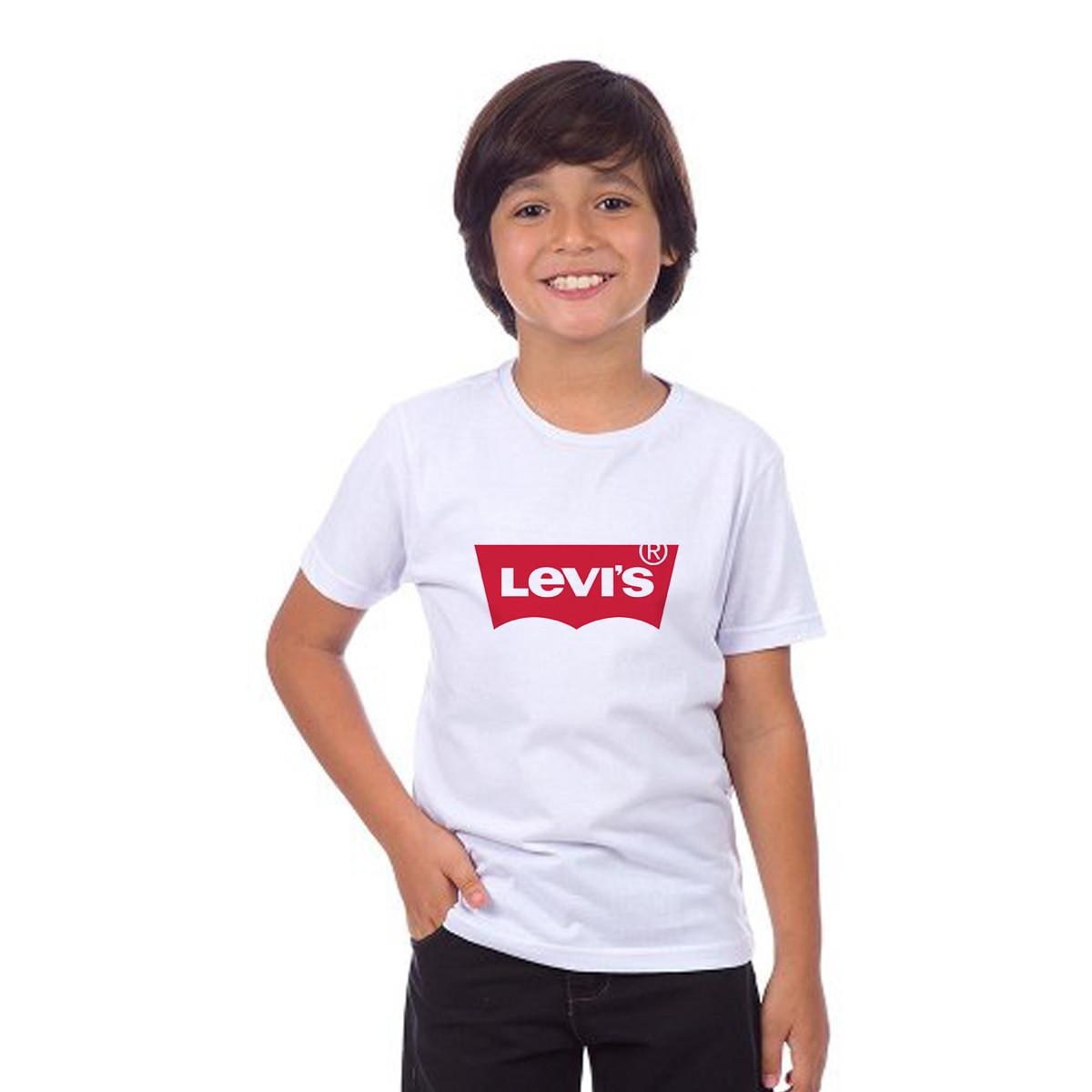 a9245b3af3617 Camisa Camiseta Infantil Levis no Elo7