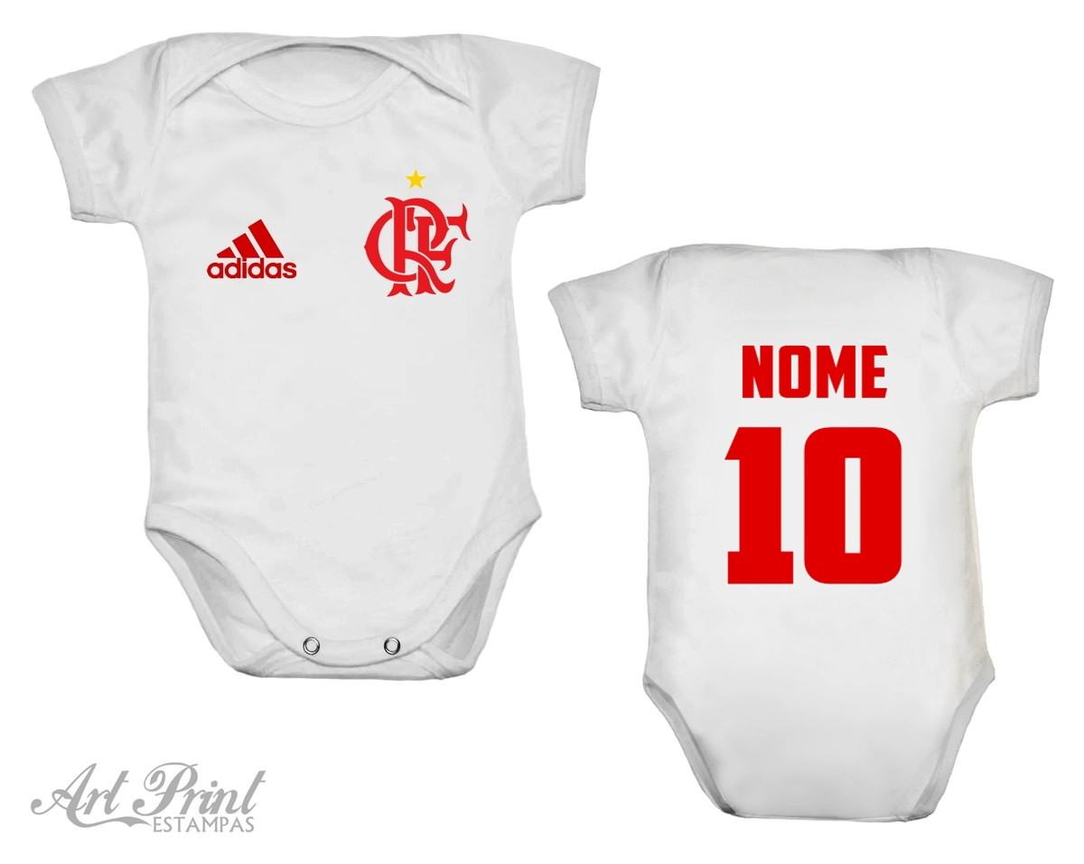 Body do Flamengo Personalizado no Elo7  79197de8c1679