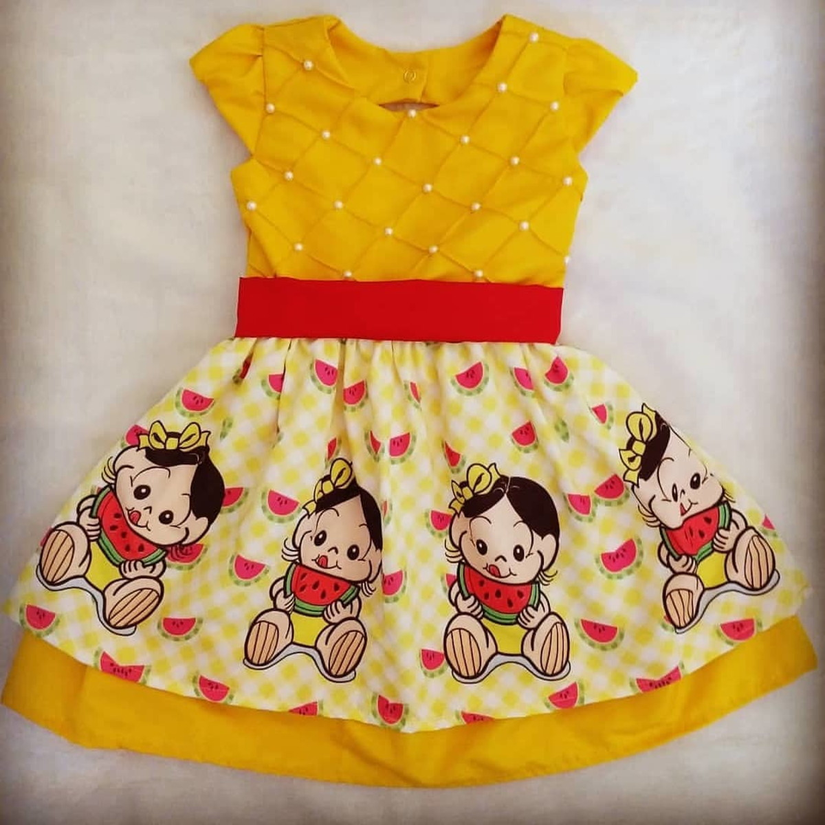b7f0e2bc00 Vestido Luxo Magali Baby - 1 Ano no Elo7