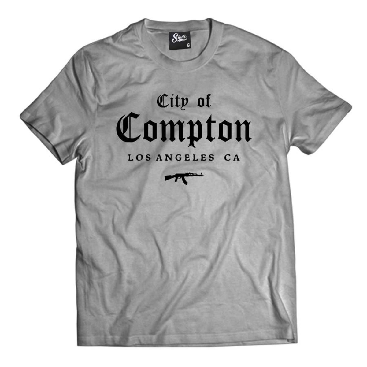 Camiseta City of Compton Camisa Masculina Gangster Hip-hop no Elo7 ... 5ac0c3bea30