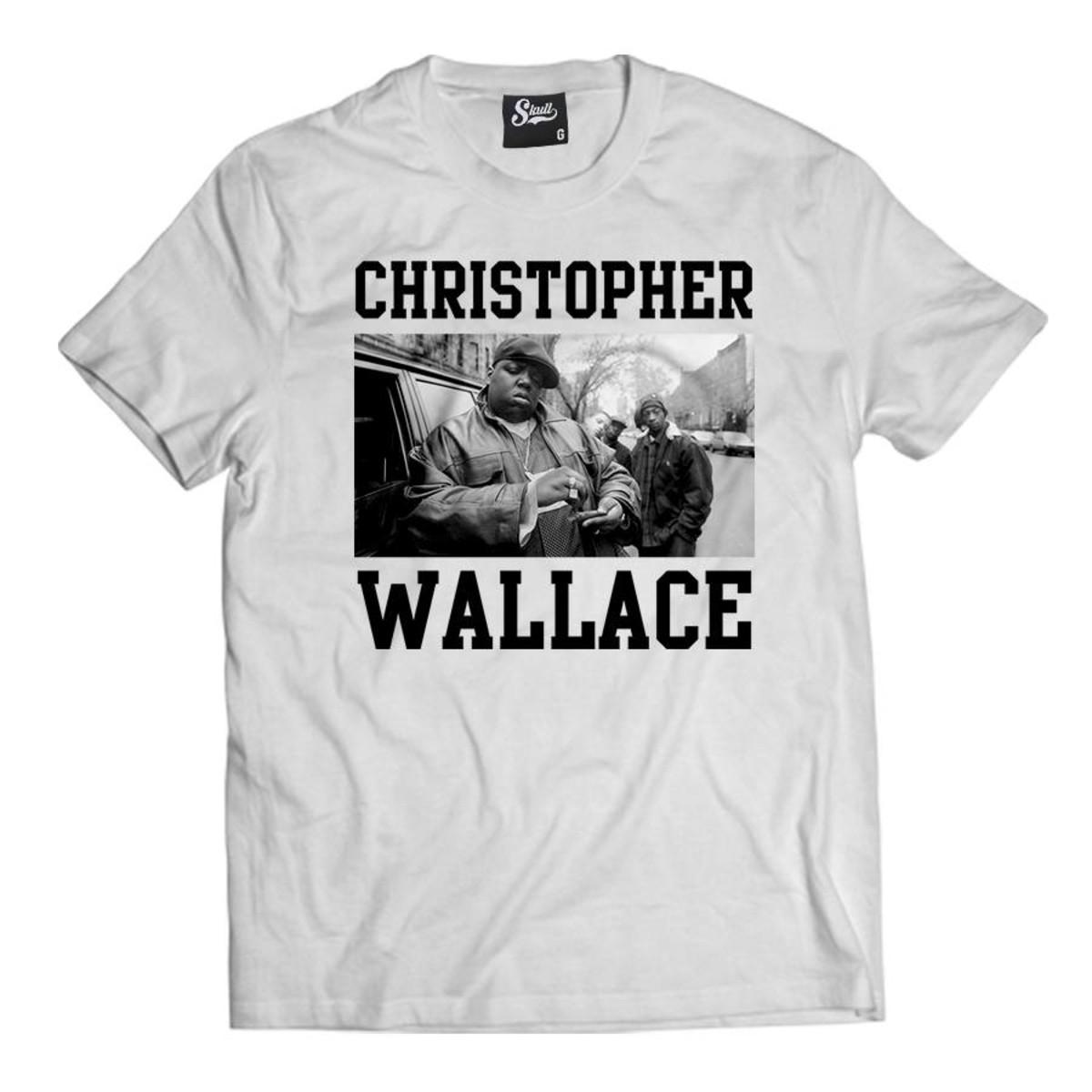 1c3b936caef78 Camiseta Christopher Wallace Camisa Masculina Notorious Big no Elo7 ...