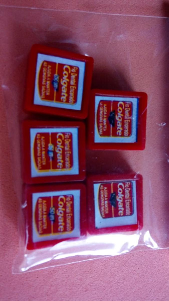 c86c70885 Miniaturas - Fio Dental Colgate no Elo7