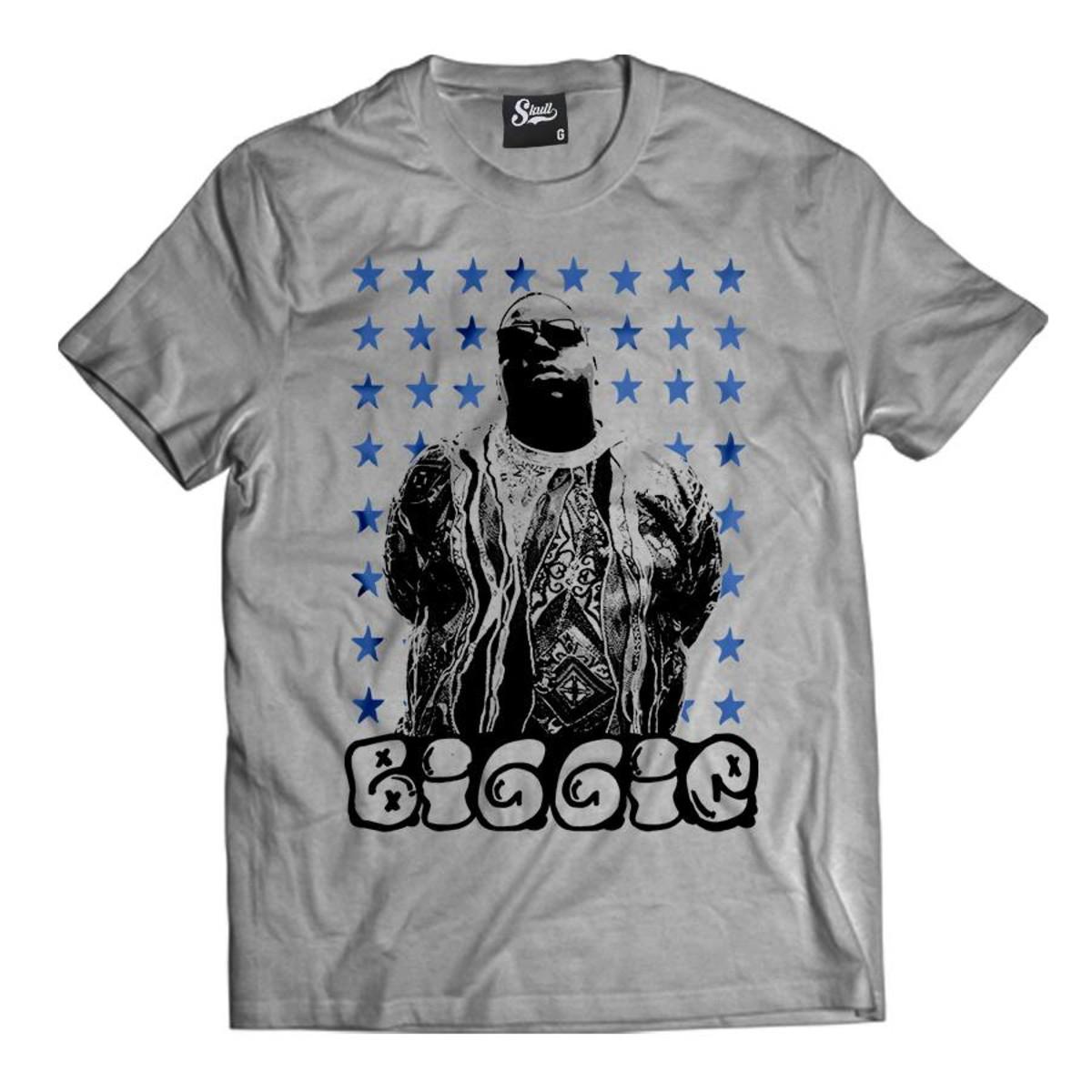 1b5f531cc088c Camiseta Biggie Star Masculina Notorious Big Rapper Hip Hop no Elo7 ...