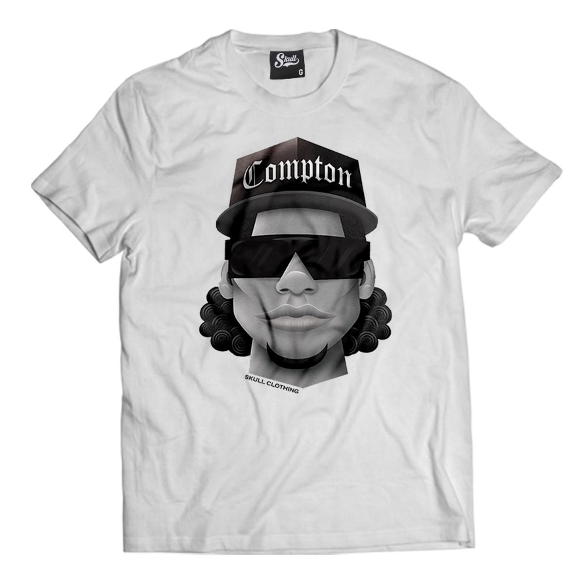 924dbfbd1597b Camiseta Compton Eazy-E Rapper Camisa Masculina Rap Hip-hop no Elo7 ...