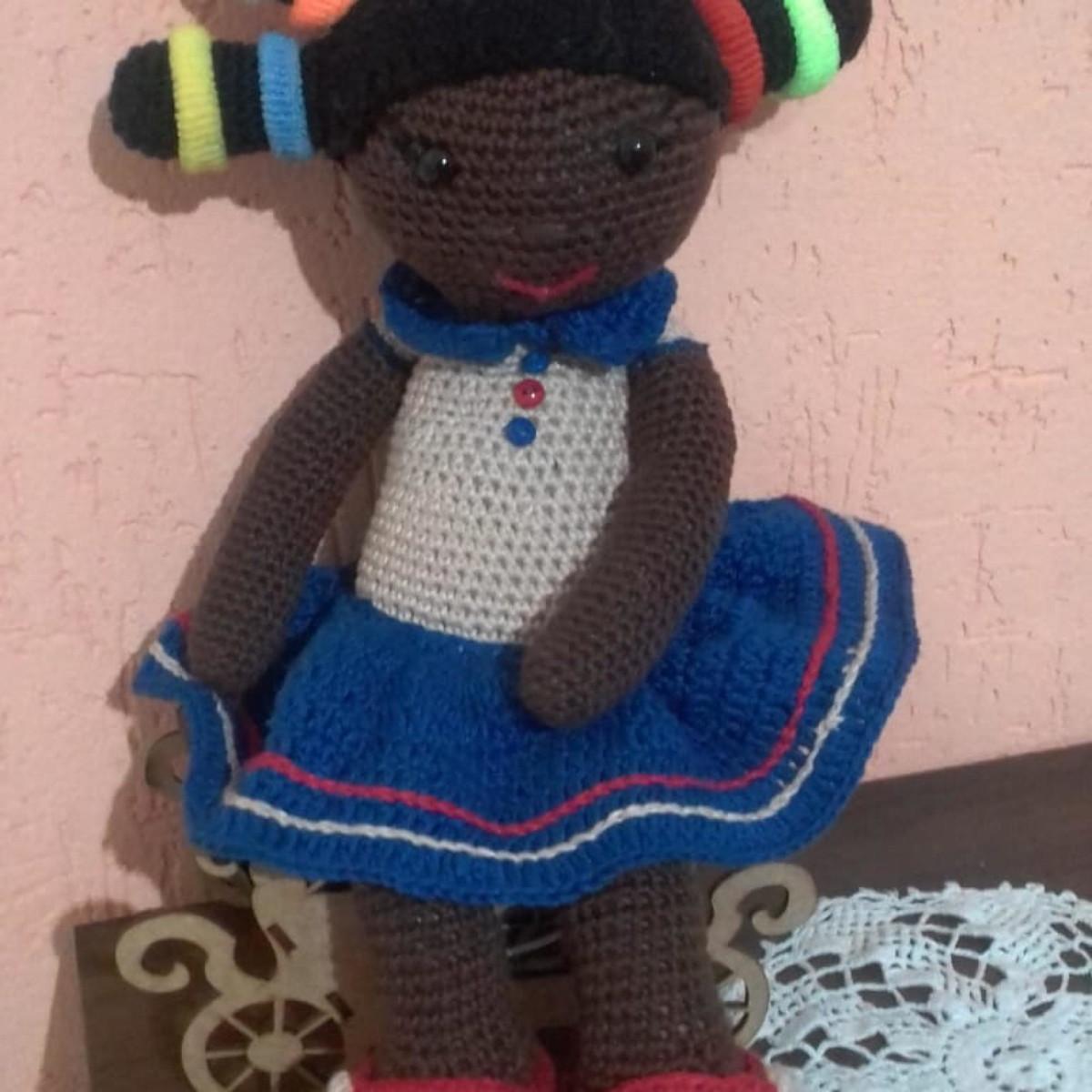 Crochet doll Rose amigurumi tutorial | Amiguroom Toys | 1200x1200