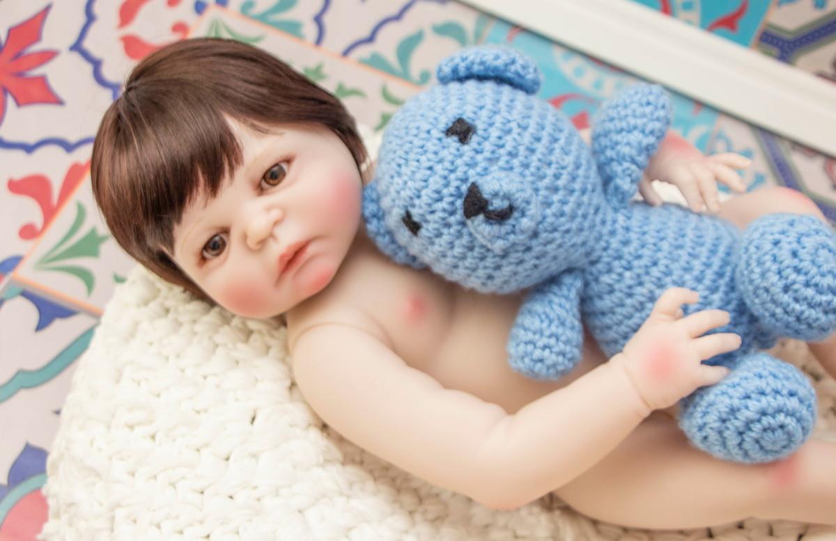 a226e7259 Pronta Entrega Boneca Bebê Reborn Silicone Enxoval Completo no Elo7 ...