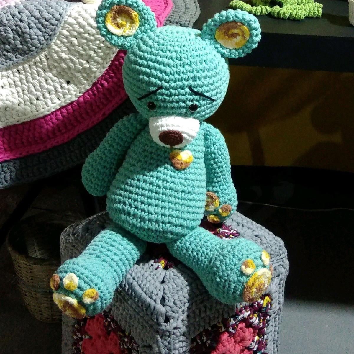 Receita Urso e Elefante Maxi com Fio Amigurumi Maxi - Blog do ... | 1200x1200