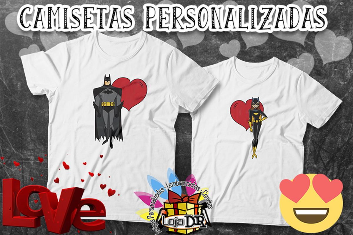9a7f298c7a4a7 Camiseta Amor Batman no Elo7