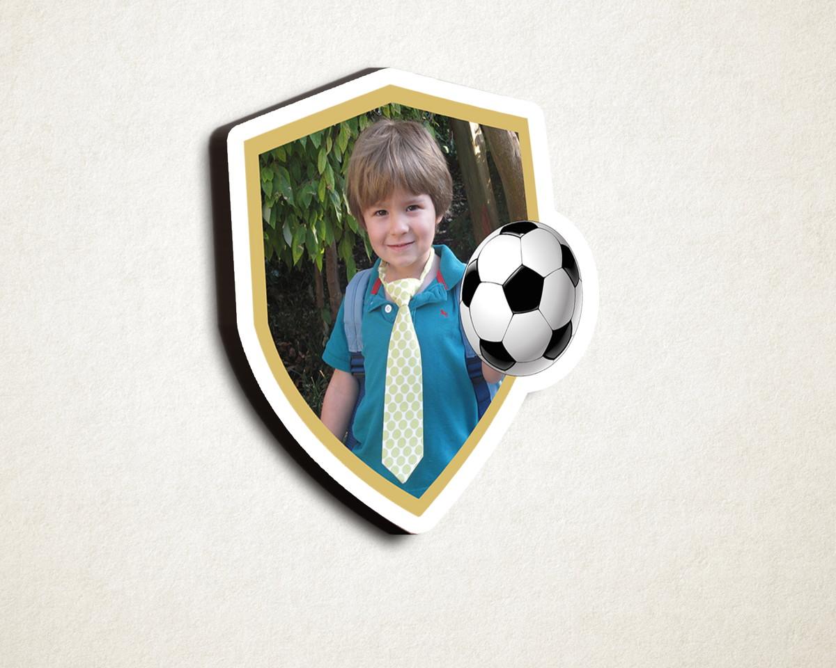 Aplique placa quadro- MDF e impressão foto- bola futebol no Elo7  aec7a6c789620