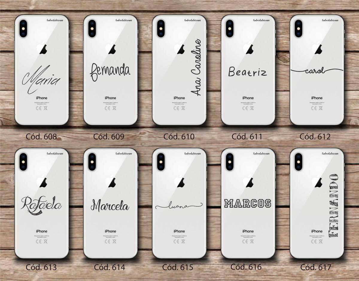 bd30a9ba0 Capinha Capa Case Celular Personalizada Com Nome Linha 5 no Elo7 ...