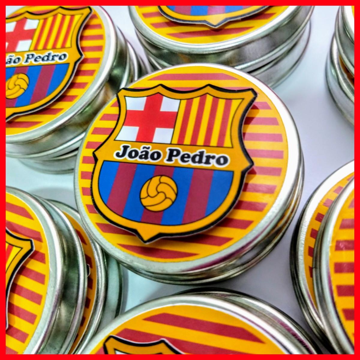 Latinha Min To Be Barcelona no Elo7  f45e4aaa8504b