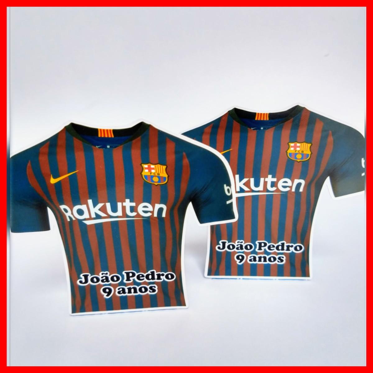 Caixa porta Chocolate Bis Camisa Barcelona no Elo7  2b880ab42bbed