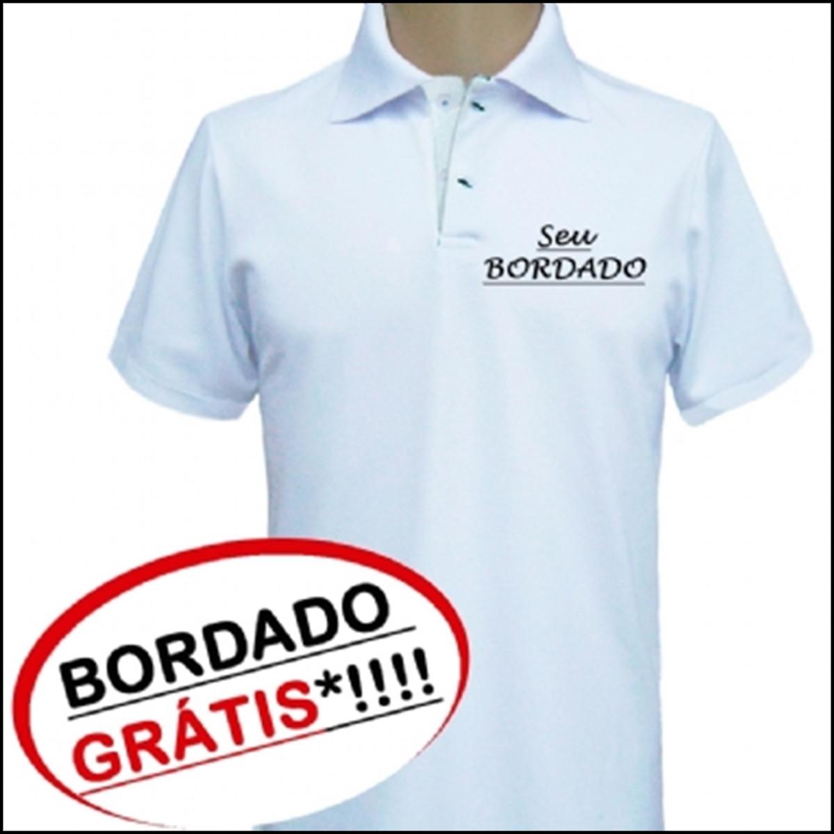 e6415640a Camisa Polo Personalizada com Bordado no Elo7