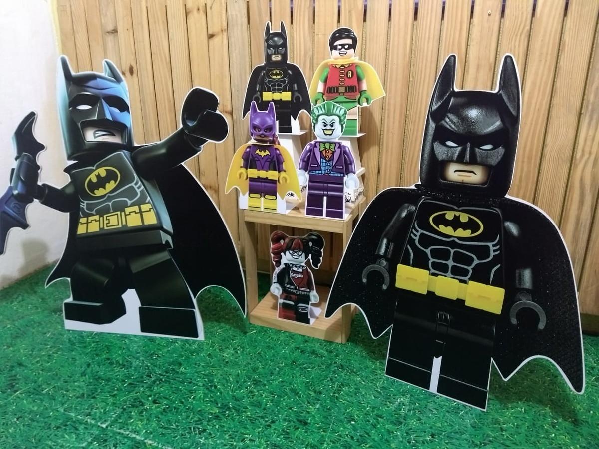 Kit Festa Tema Batman Lego Festa Infantil Em Mdf 3mm No Elo7 Jlm