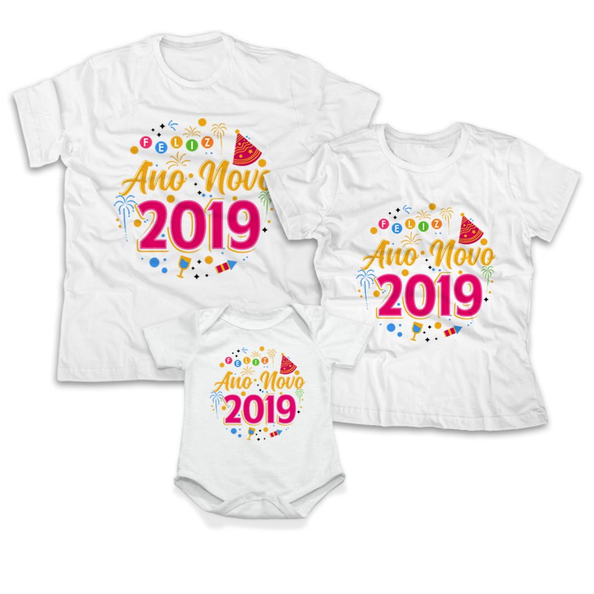 e1ad695083 Kit Camisetas feliz ano novo uma excelente opo voc e sua