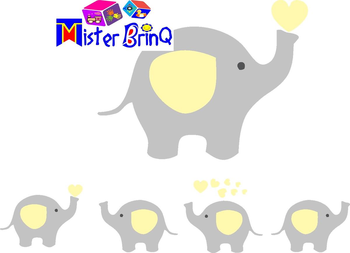 Display Elefante Cinza E Amarelo No Elo7 Mister Brinq Dcbe7f