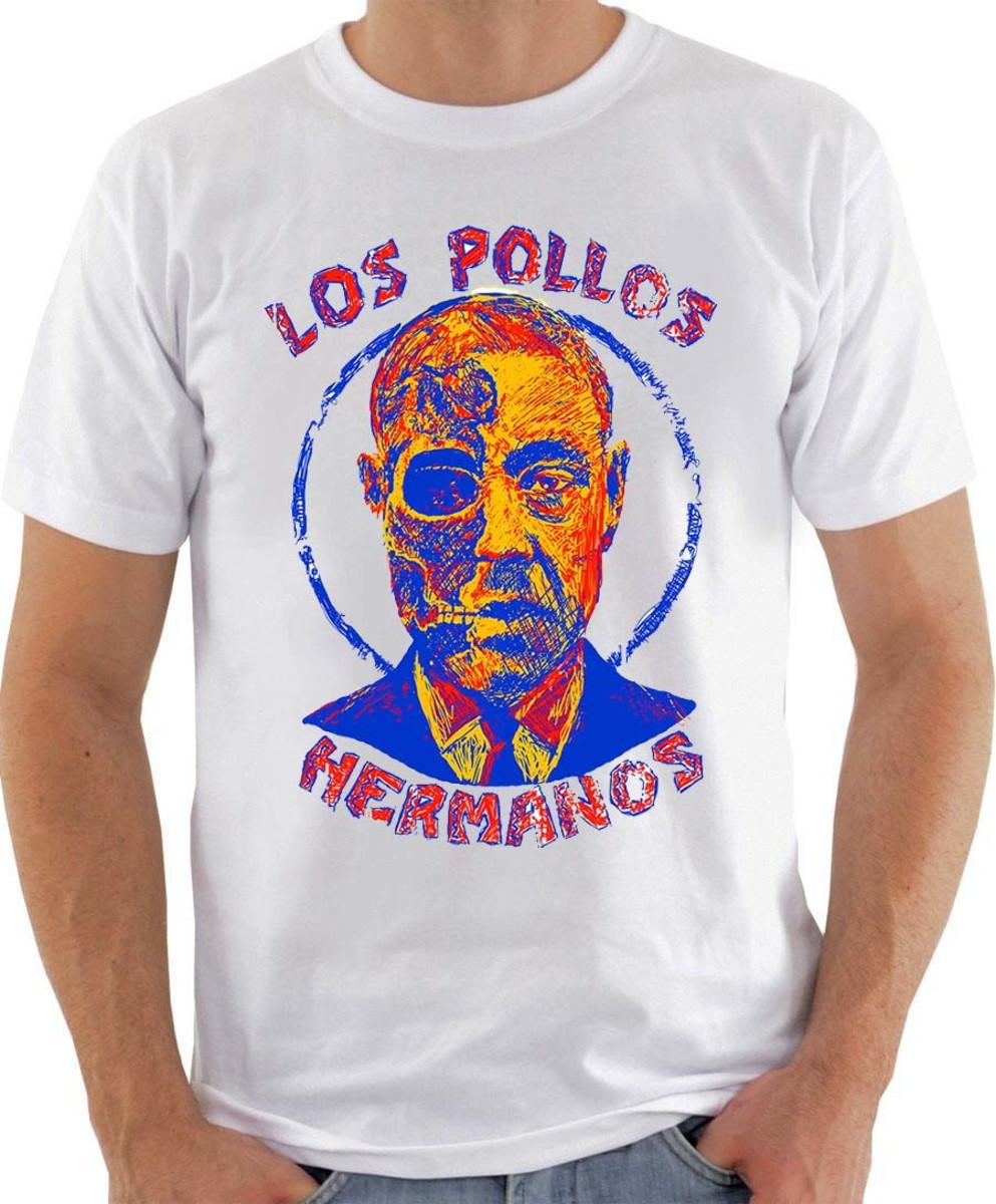 Camiseta Breaking Bad Gustavo Fring No Elo7 Arte Em 2 Cores Dccd51