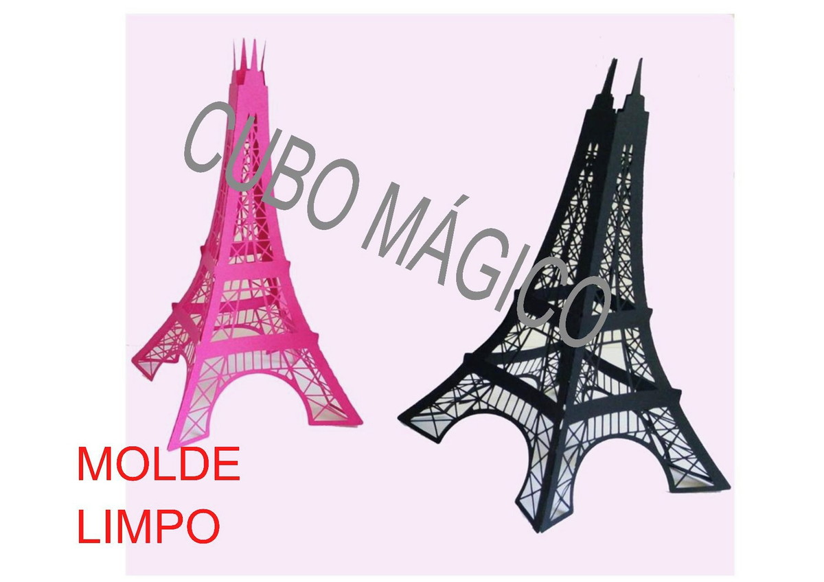 Arquivo De Corte Torre Eiffel No Elo7 Cubo Magico Dcd76e
