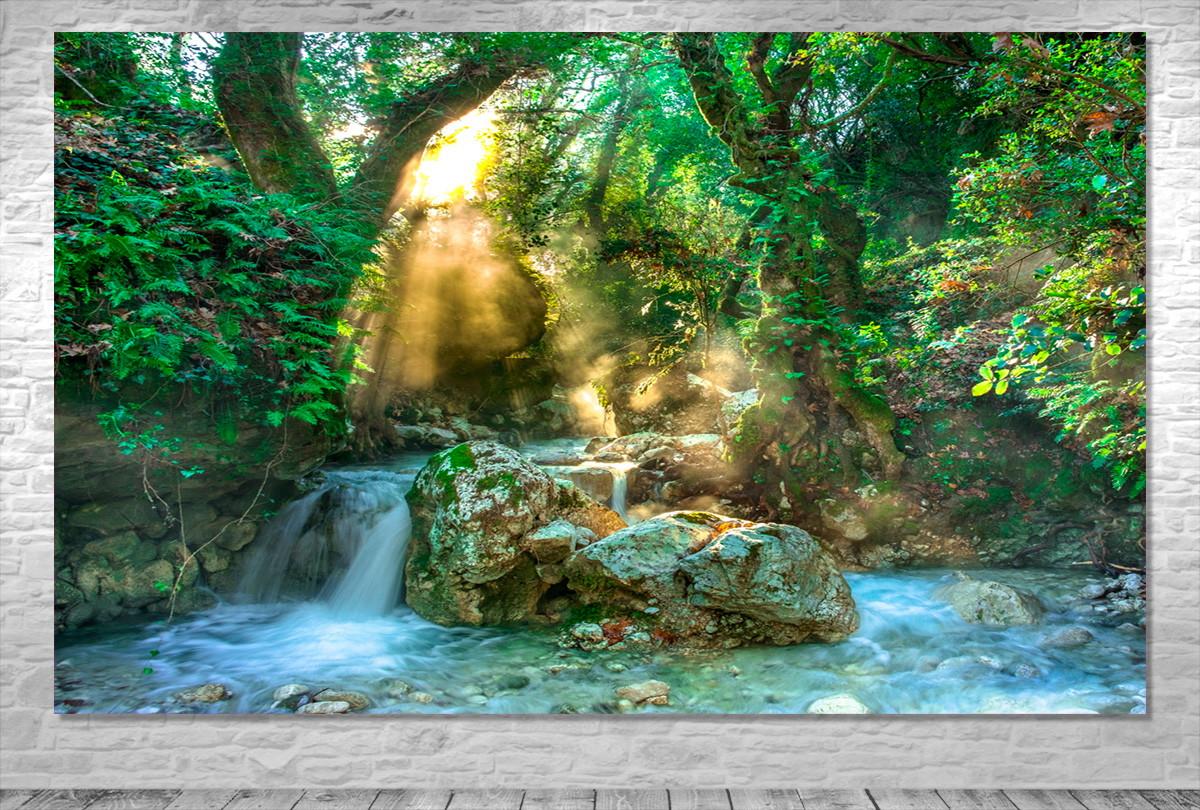 Painel Floresta Natureza Frete Gratis No Elo7 One Artes Dce346