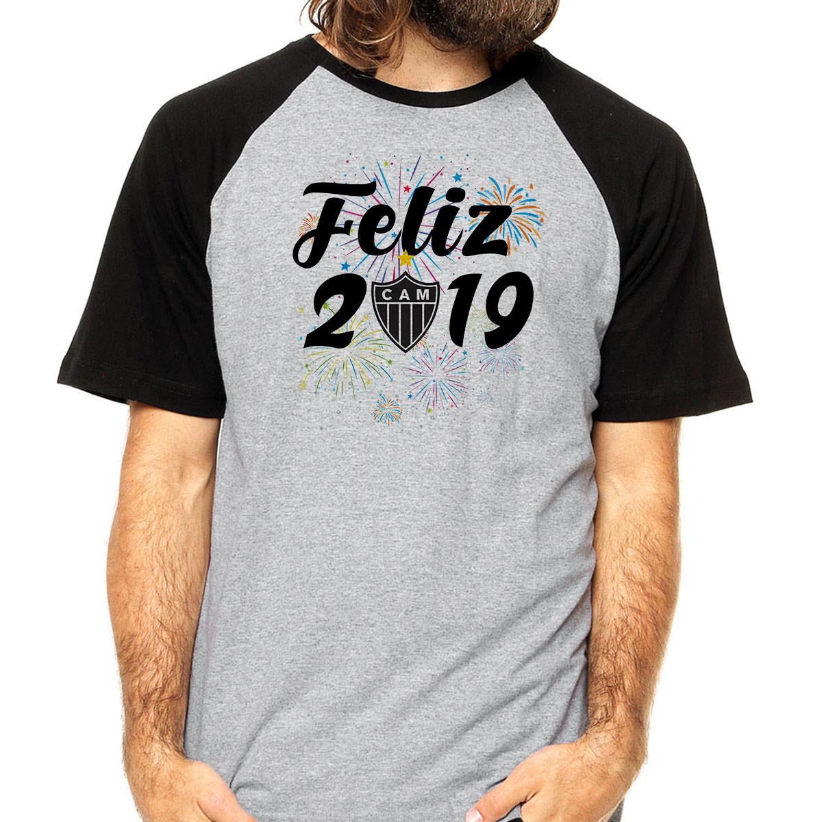 5338c898ee Camiseta Feliz 2019 Atlético Mineiro Time de Futebol 2019 no Elo7 ...