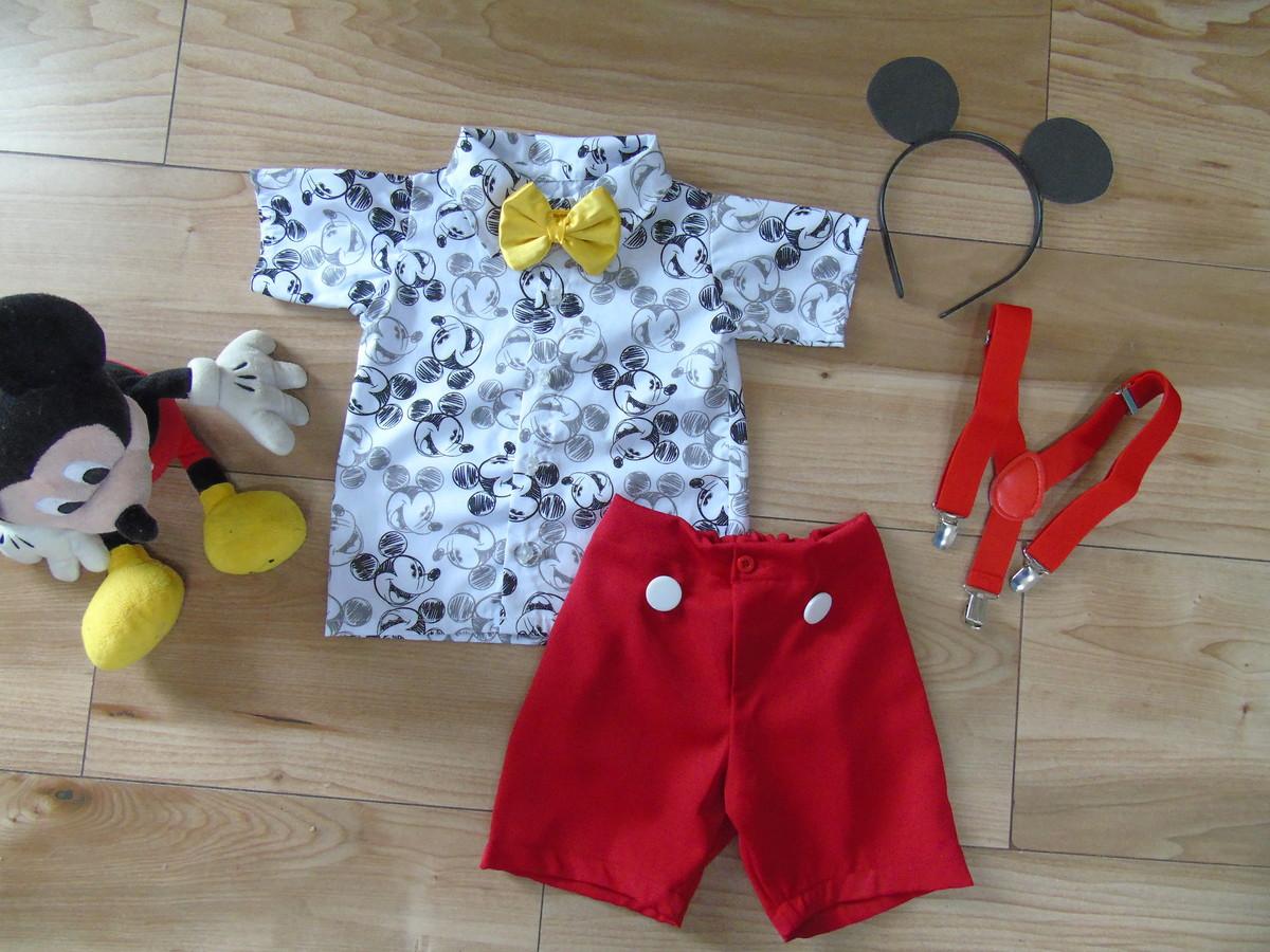4be8701b2130e1 Fantasia Mickey, roupa mickey, camisa mickey