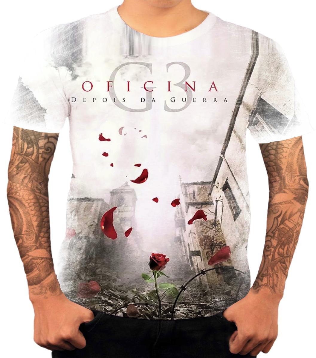 PROMOÇÃO LIQUIDAÇÃO Camiseta Banda De Rock Oficina G3 Tam P no Elo7 ... ea16e6e50b542