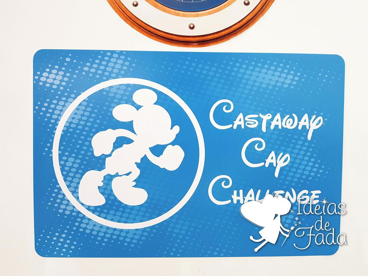 84526ec70c Decoração Porta de Cruzeiro - Castaway no Elo7