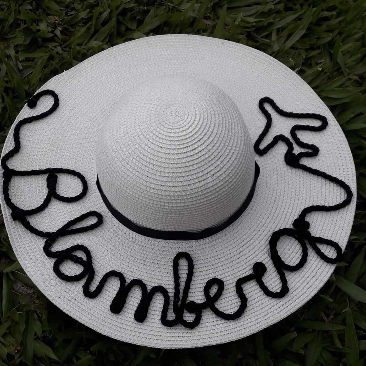 chapéu de praia personalizado no Elo7  f5e608ee4f8