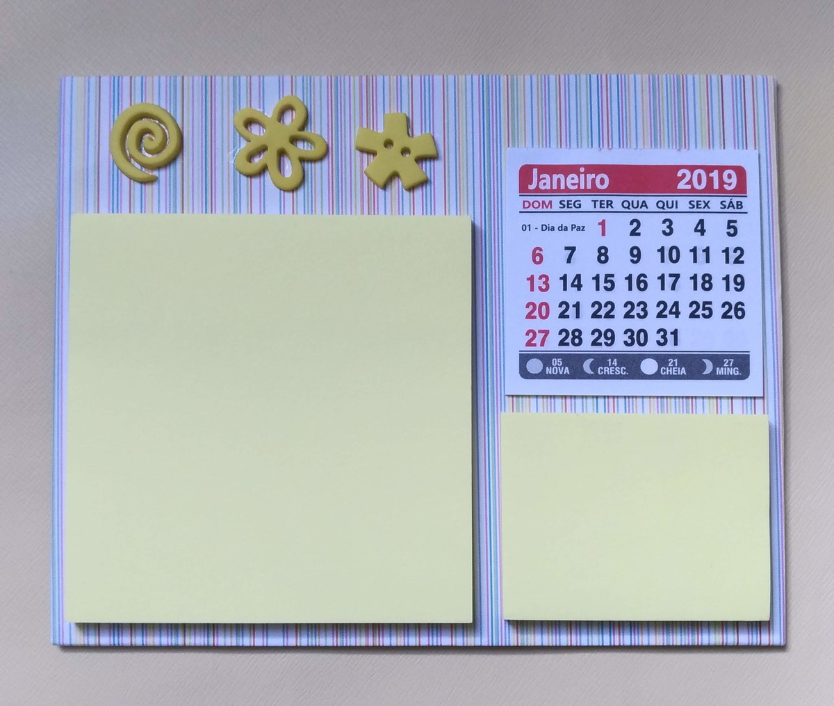 Calendario It.Calendario Com Post It