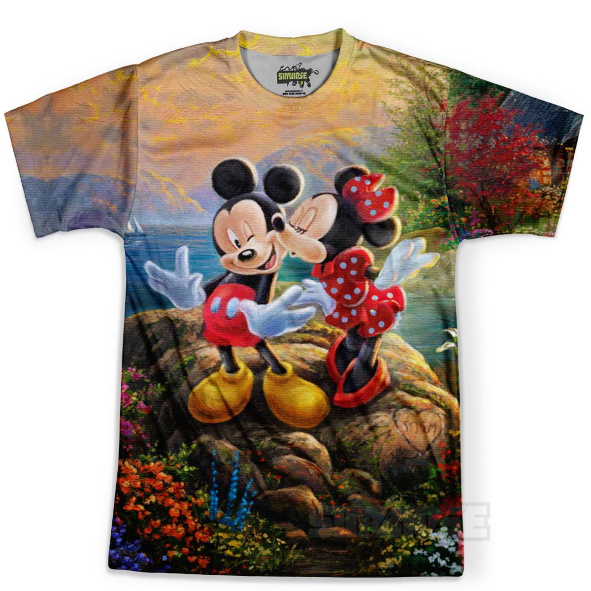 107f6305d7 Camiseta Masculina Mickey Mouse MD03 no Elo7