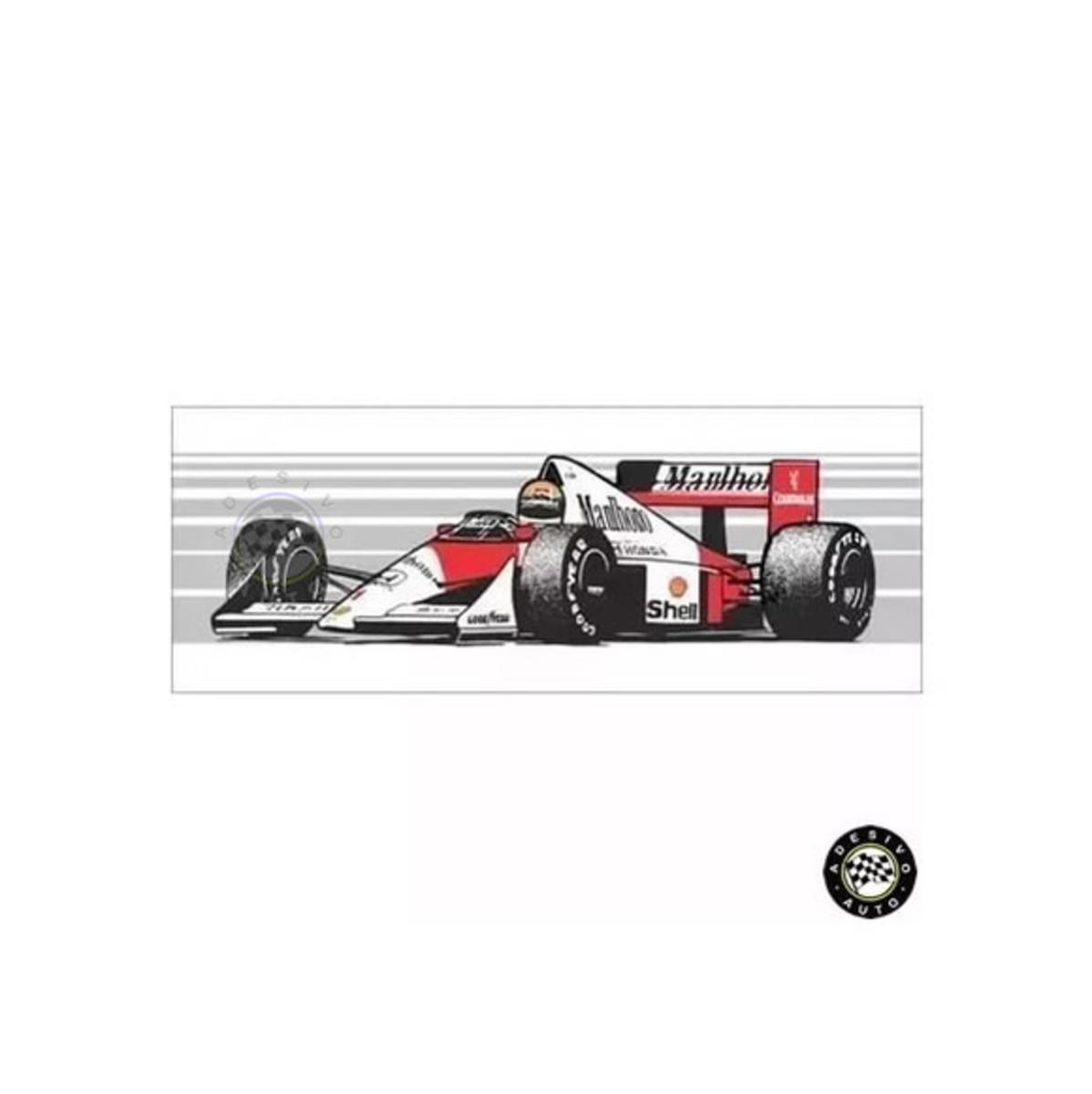 Adesivo Ayrton Senna McLaren MP4 5 1989 F1 Formula 1 Carros no Elo7 ... 5a218e852abfa