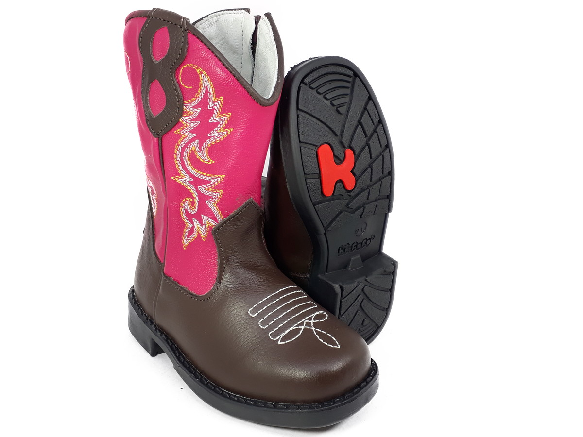 Bota Country Infantil Texana Menina Rodeio Cowboy 8117 no Elo7  15822c74743