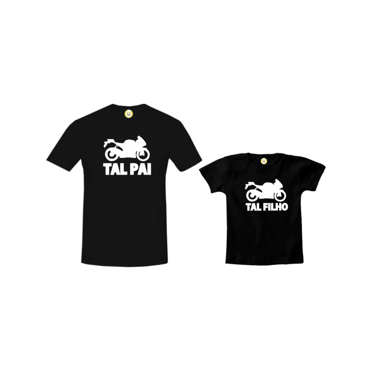 dc5dc62890fc8a Kit Camiseta Moto Tal Pai Tal Filho