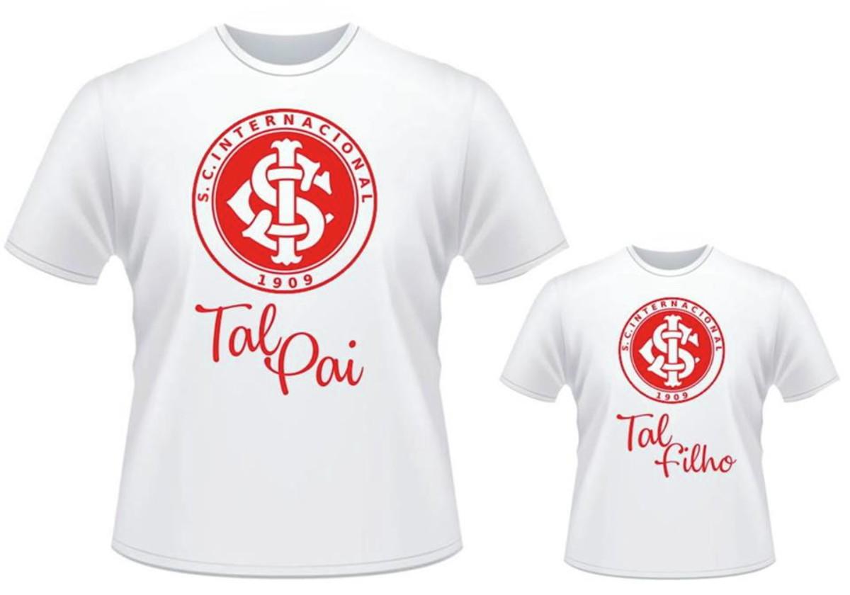Camiseta + Body Tal Pai Tal Filho Futebol Time times no Elo7  085264530dbc5